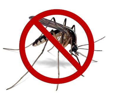 No Mosquitoes logo